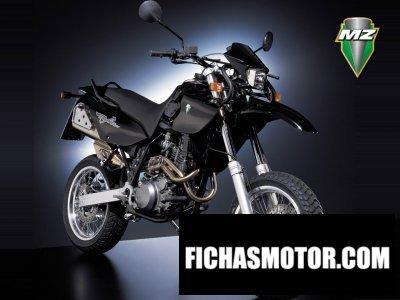 Ficha técnica Mz 660 baghira street moto 2003