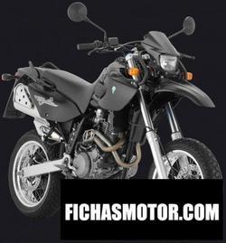 Imagen moto Mz baghira black panther 2005