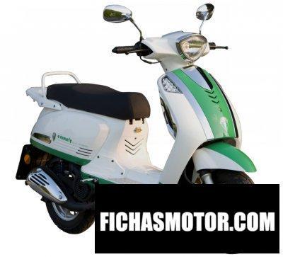 Ficha técnica Mz emmely e-scooter 2011