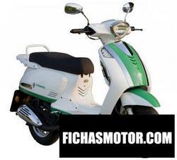 Imagen moto Mz emmely el2-hybrid 2011