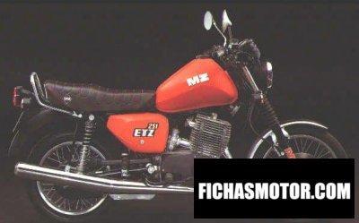Ficha técnica Mz etz 251 1993