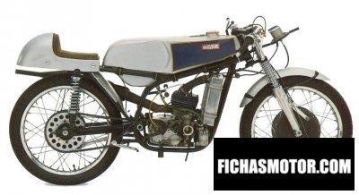 Ficha técnica Mz re125 1960