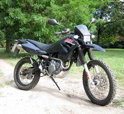 Imagen moto Mz sx 125 2001