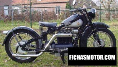 Ficha técnica Nimbus 2510 1938