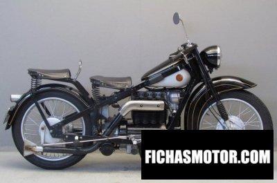Ficha técnica Nimbus 2510 1945