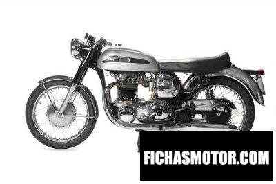 Imagen moto Norton 650ss año 1967