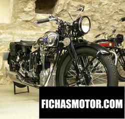 Imagen moto Nsu 201 osl 1933