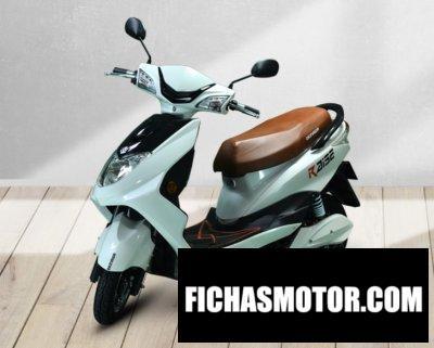 Imagen moto Okinawa Raise año 2020