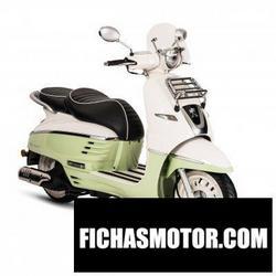Imagen moto Peugeot django 151 2016
