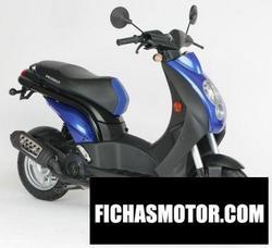 Imagen moto Peugeot ludix 2 50 one biplace 2008