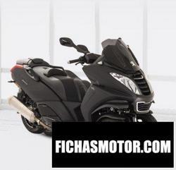 Imagen moto Peugeot Metropolis Black Edition 2019