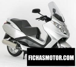 Imagen moto Peugeot satelis 125 2006