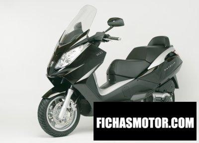 Imagen moto Peugeot satelis 500 año 2010