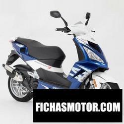 Imagen moto Peugeot speedfight 3 liquid 2012