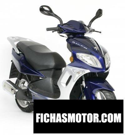 Imagen moto Peugeot sum-up 125 año 2008