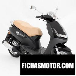Imagen moto Peugeot vivacity 125 sixties 2012