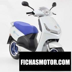 Imagen moto Peugeot vivacity electric 2012