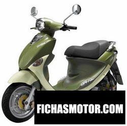 Imagen moto Pgo bubu 100 2008