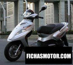 Imagen moto Pgo charge 125 2007