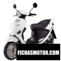 Imagen moto Pgo ewave 2011