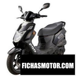 Imagen moto Pgo libra 150 carb 2011