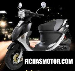 Imagen moto Pgo ligero 125 2008