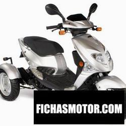Imagen moto Pgo roadshow 90 2006