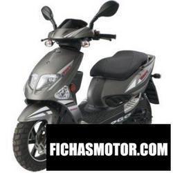 摩托车形象 Pgo t-rex 50 2010
