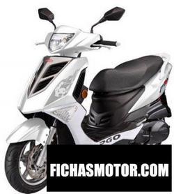 Imagen moto Pgo tigra 125 efi 2016