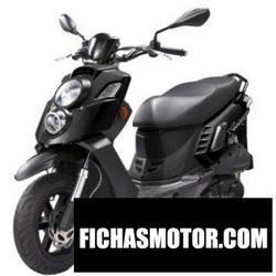 Imagen moto Pgo x-hot 50 2010