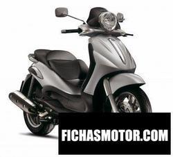 Imagen moto Piaggio beverly 500 2006