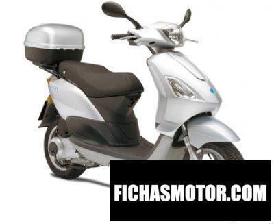 Imagen moto Piaggio fly 125 año 2008