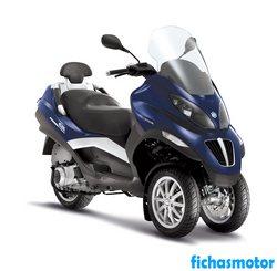 Imagen de Piaggio mp3 400 año 2013