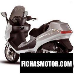 Imagen moto Piaggio x8 125 2007