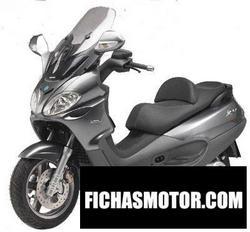 Imagen moto Piaggio x9 evolution 500 2007