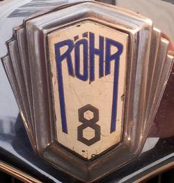Logo de la marca Roehr