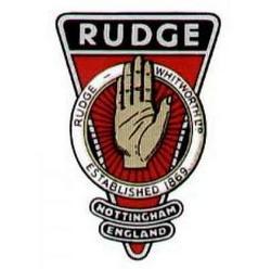 Logo de la marca Rudge