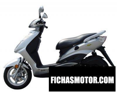 Imagen moto Sachs eagle 125 año 2008