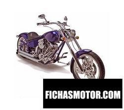 Imagen moto Saxon firestorm 2008