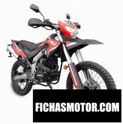 Imagen moto Serpento Yara 200 2020