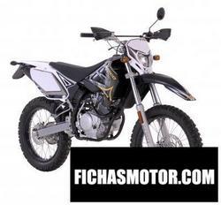 Imagen moto Sherco 125cc enduro 2008