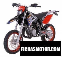 Imagen moto Sherco 50cc supermotard 2008