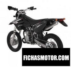 Imagen moto Sherco sm 0.5 black panther 2009