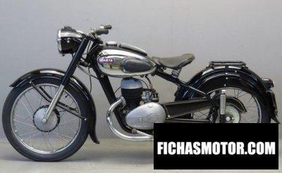 Zündapp ks 601 1950 | FICHA TÉCNICA y ESPECIFICACIONES