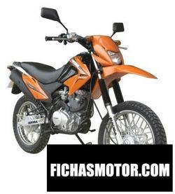 Imagen moto Sukida crosser 250 2014