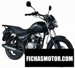 Imagen moto Sukida fantom 125 2014