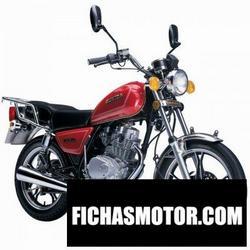 Imagen moto Sukida inspector 125 2014
