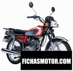 Imagen moto Sukida pharaoh 125 2014