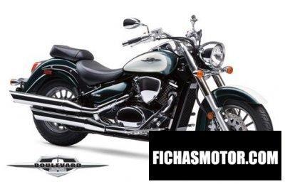 Imagen moto Suzuki boulevard c50 Special Edition año 2011