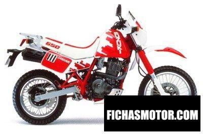Imagen moto Suzuki dr 650 r dakar año 1991